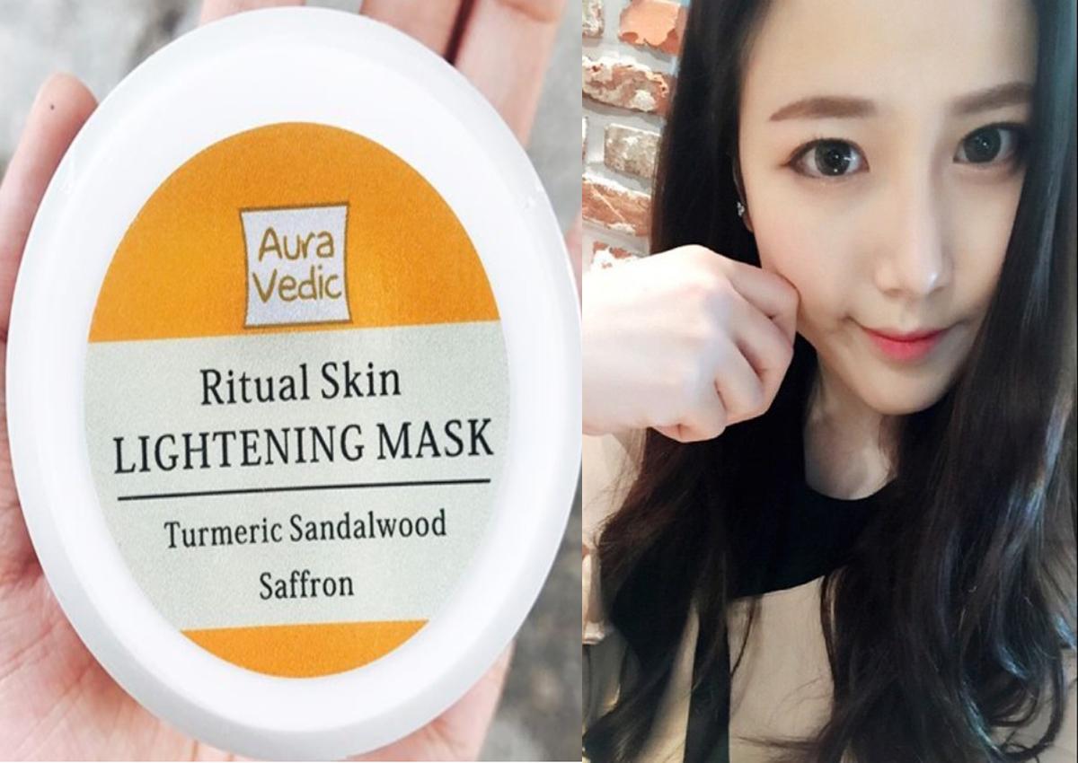 mặt nạ sáng da ấn độ lightening mask
