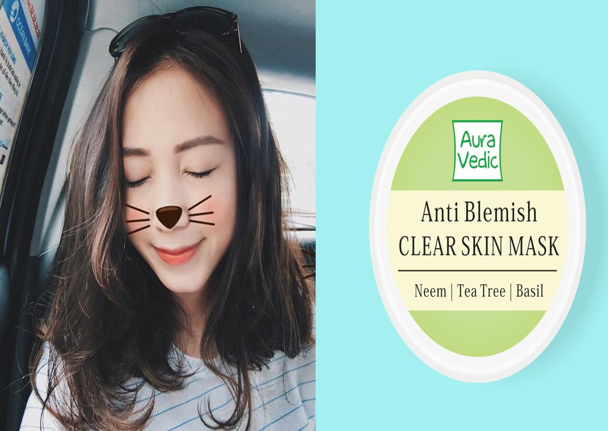 review Aura Vedic Anti Blemish Face Mask