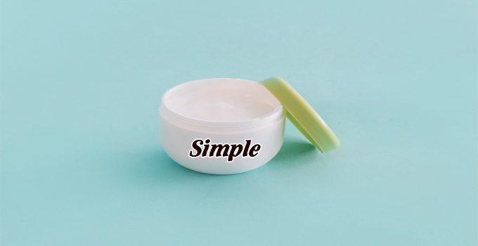 sữa rửa mặt simple