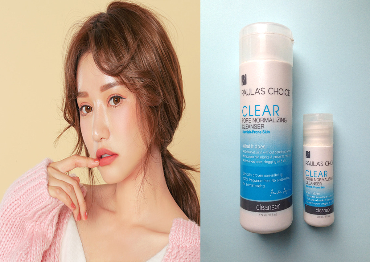 [REVIEW] Sữa rửa mặt Paula's Choice Clear Pore Normalizing Cleanser