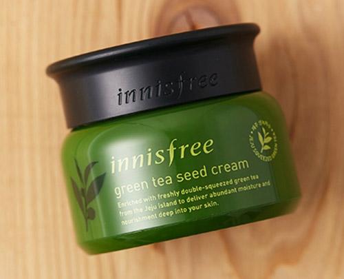 Kem dưỡng ẩm Innisfree Green Tea Seed Cream 50ml