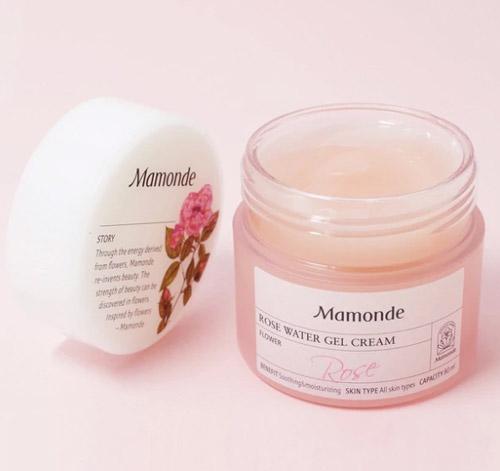 Kem dưỡng ẩm dịu da dạng gel hoa hồng Mamonde Rose Watr Gel Cream