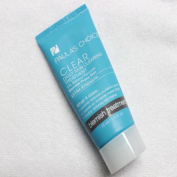 kem trị mụn paula choice's clear' daily skin clearing treatment 5% benzoyl peroxide