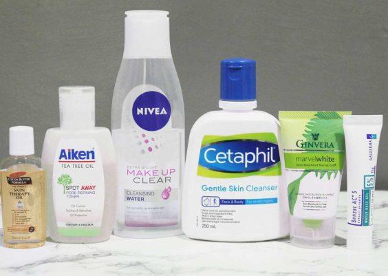 những sản phẩm sữa rửa mặt tốt nhất cho da