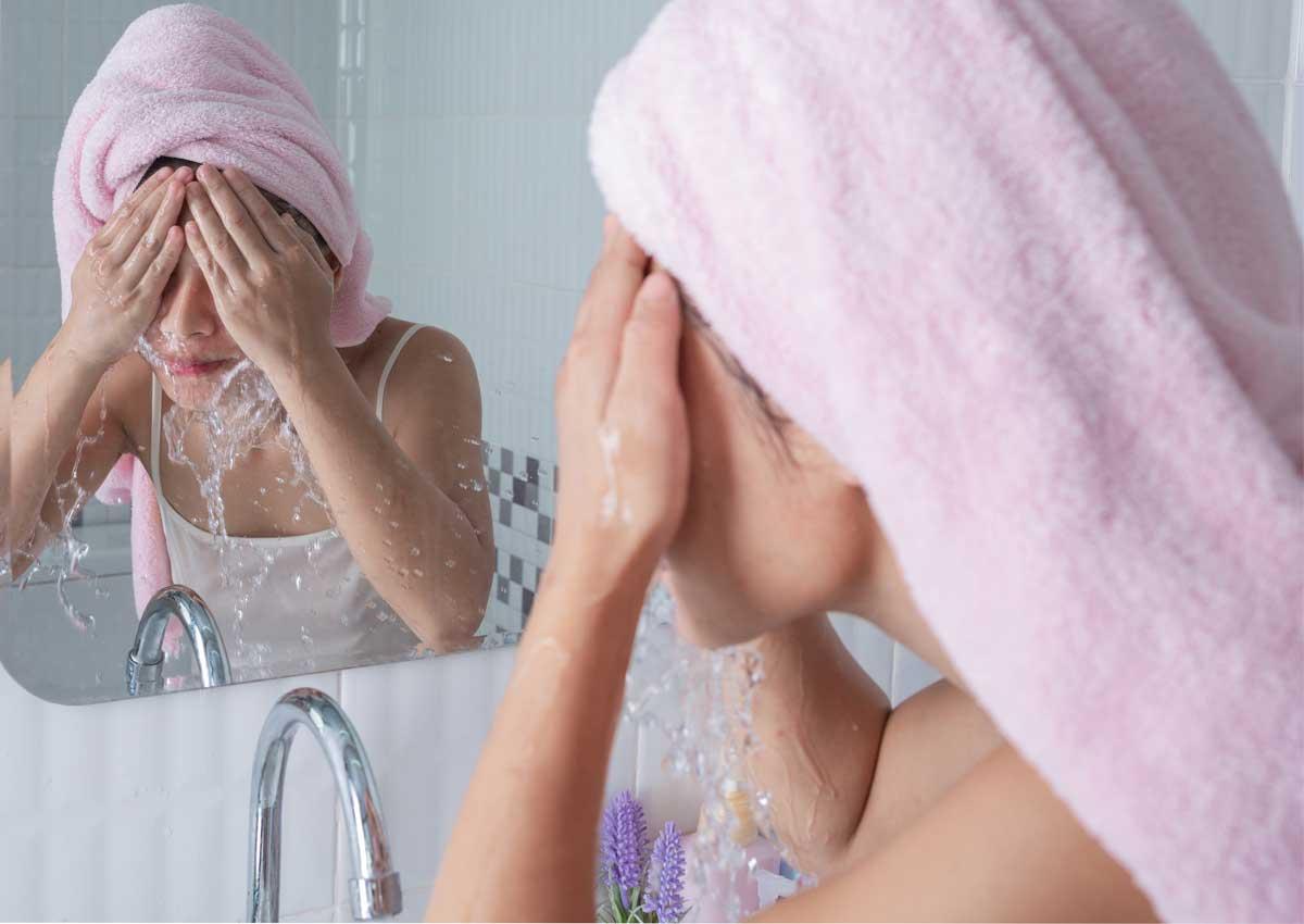 hướng dẫn rửa mặt đúng chuẩn