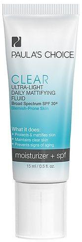 Kem chống nắng clear ultra-light-daily-mattiflying-fluid