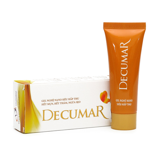 công dụng kem trị mụn decumar