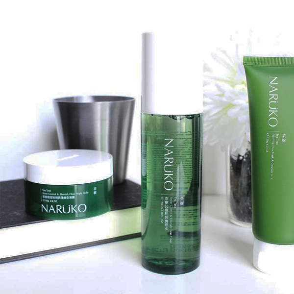 naruko Tea Tree Shine Control And Blemish Clear toner