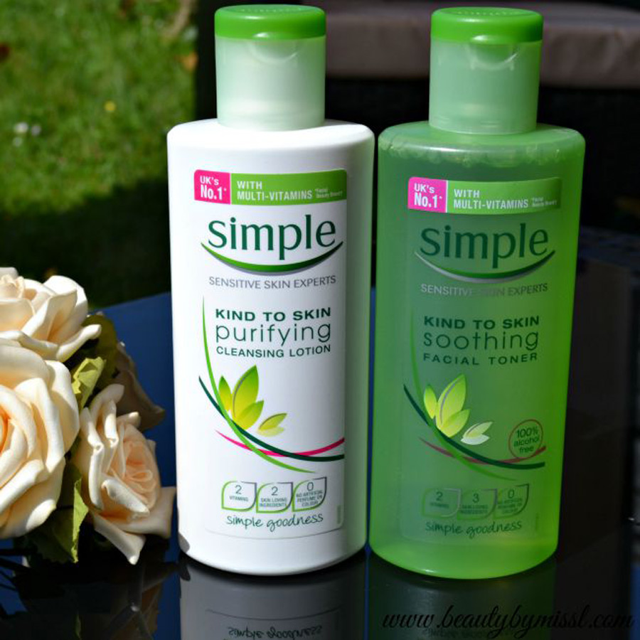 Toner Simple Kind To Skin Soothing Facial