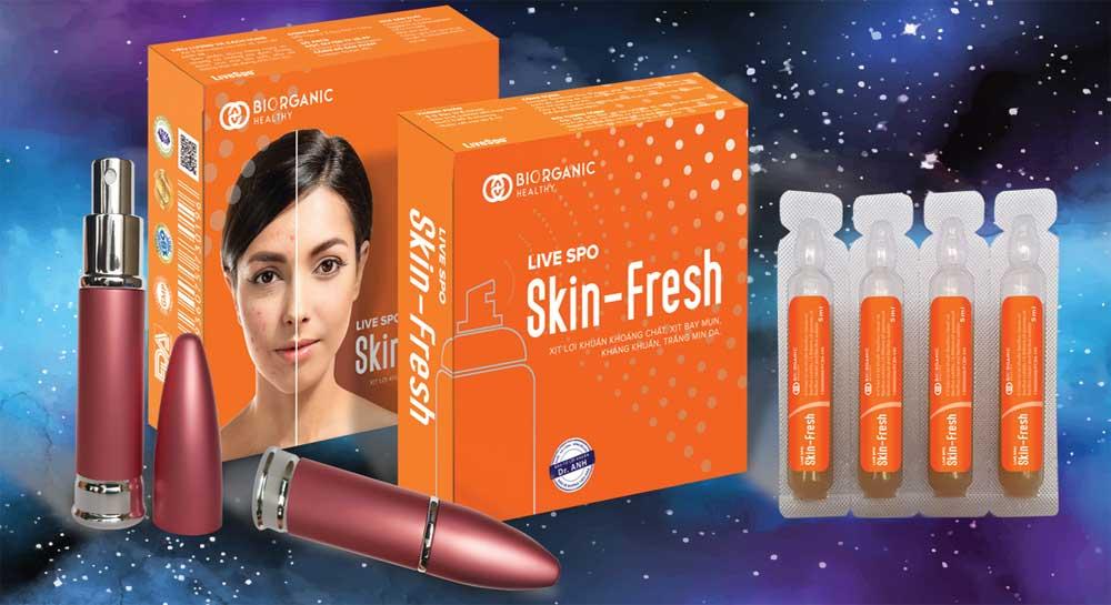 xịt trị mụn Skin Fresh