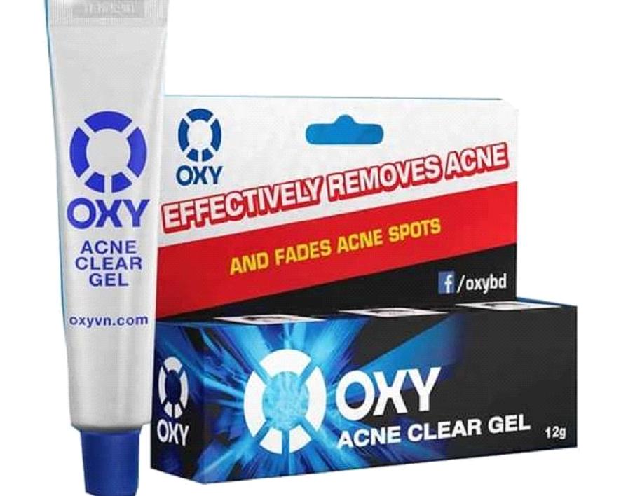 gel trị mụn oxy cho nam giới
