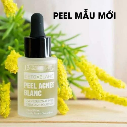 Serum Trị Mụn trắng da Peel Acnes Blanc Detoxblanc