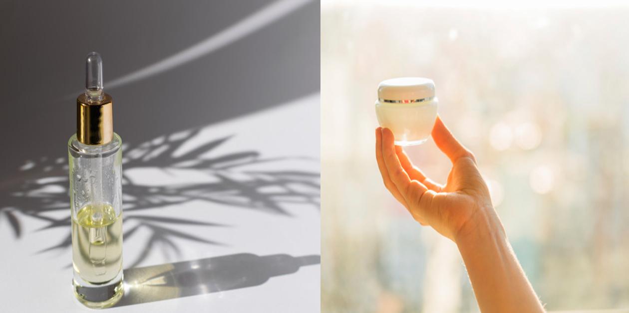 Sự khác biệt giữa serum và kem trị mụn