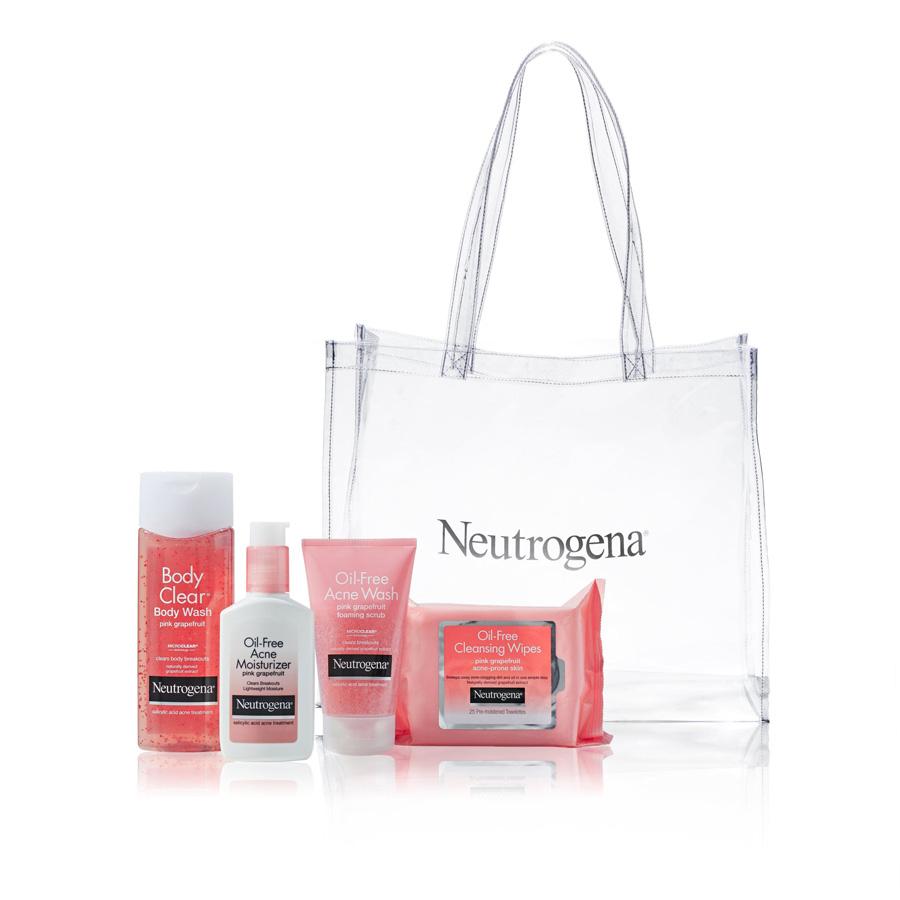 bộ mỹ phẩm chăm sóc da dầu mụn Neutrogena