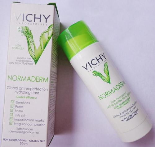 Kem dưỡng ẩm da trị mụn Vichy Normaderm Tri-Activ Imperfection Hydrating Care