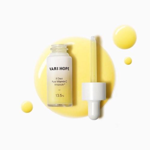 serum vitamin C Varihope 8 days