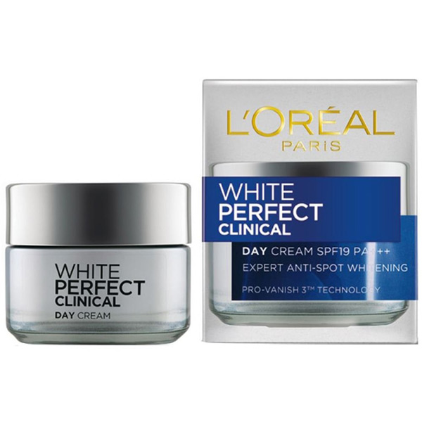 kem trị nám l'oreal white perfect clinical day cream