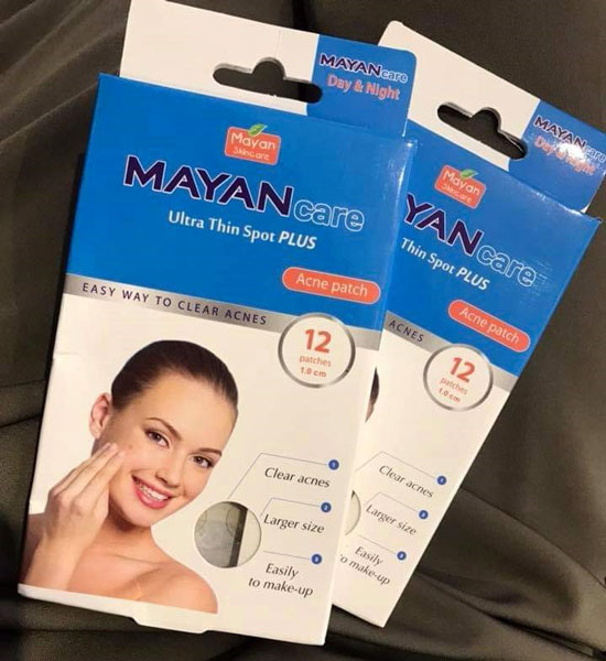 Miếng dán mụn Mayan Ultra Thin Sport Plus Acne Patch