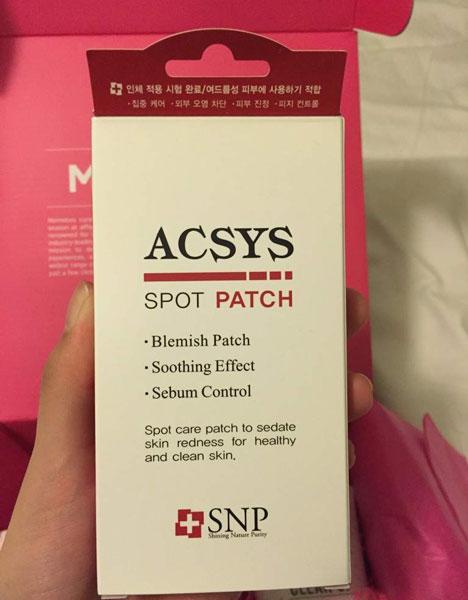 Miếng Dán Mụn SNP Acsys Spot Trouble Patch