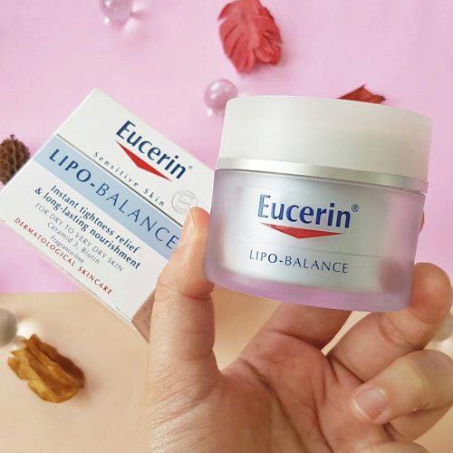 Kem dưỡng ẩm cho da khô Eucerin Lipo Balance