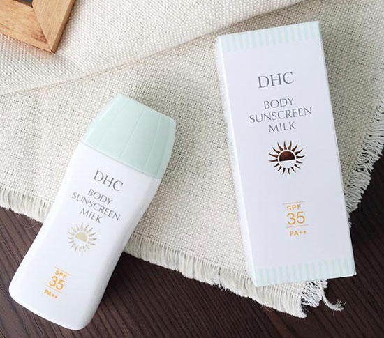 kem chống nắng cho body milk sunscreen