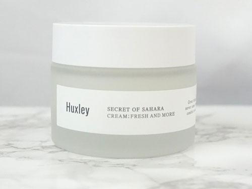 kem dưỡng ẩm cho da dầu huxley more than moist chiết xuất từ xương rồng