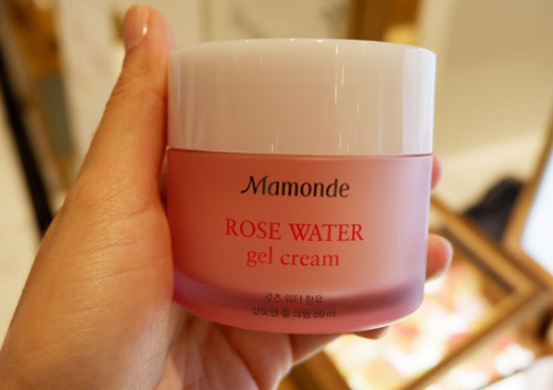 Kem dưỡng ẩm Mamonde Rose Water Gel Cream