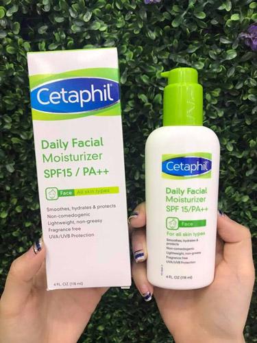 Kem dưỡng ẩm và chống nắng cho da mặt Cetaphil Daily Facial Moisturizer