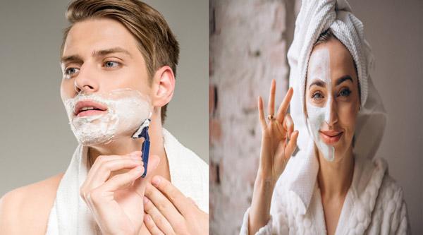 Sự khác biệt giữa chăm sóc da nam và nữ