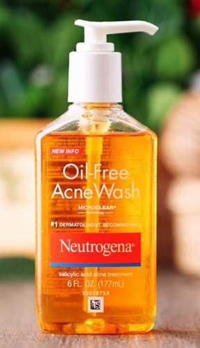 sữa rửa mặt cho da dầu nhờn Neutrogena