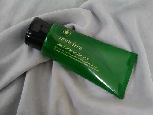 Gel dưỡng ẩm nha đam Innisfree Aloe Revital Soothing Gel