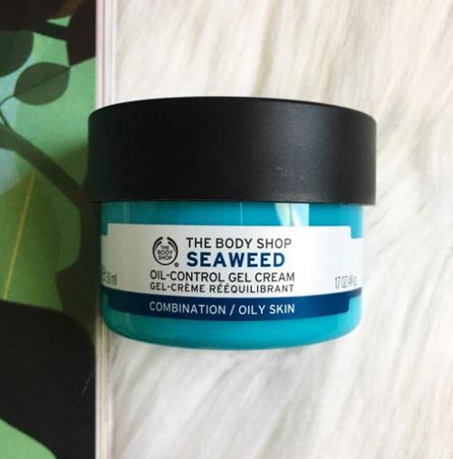Kem dưỡng ẩm The Body Shop Seaweed Oil Control Gel Cream