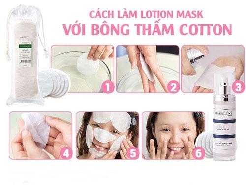 các bước làm lotion mask