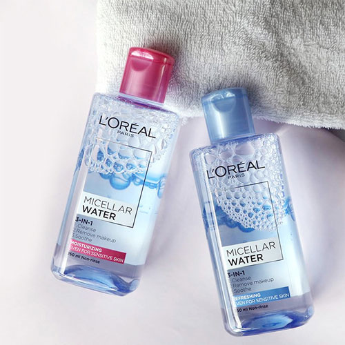 nước tẩy trang loreal paris micellar water 3 in 1