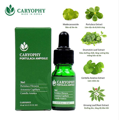 Serum trị thâm Carophy Portulaca Ampoule