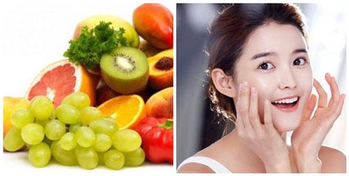 thực phẩm ảnh hưởng đên da