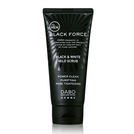 Sữa rửa mặt than hoạt tính dành cho nam Dabo Black Force