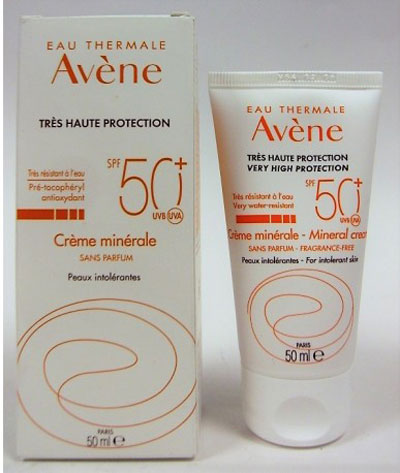 Avène High Protection Mineral Cream SPF50+