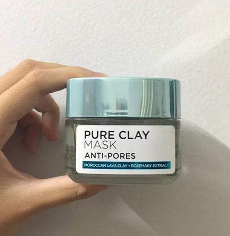 Mặt nạ loreal pure clay mask anti pores