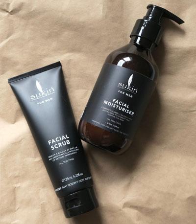 sữa rửa mặt cho nam giới Sukin Facial Cleanser For Men