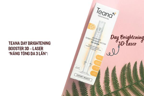 Booster Teana Natural Salicylic Acid trị mụn và cải thiện tông da sau 2 tuần