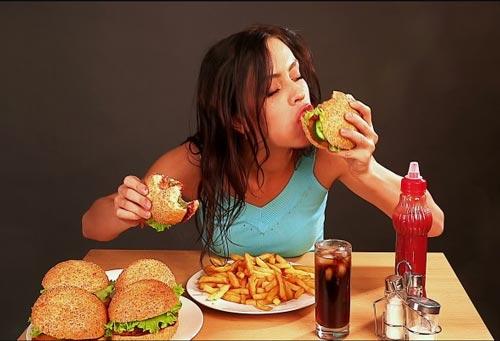 Chế độ ăn uống thiếu hợp lý