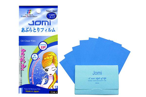 Giấy thấm dầu Jomi Oil Clear Film 70 tờ/gói