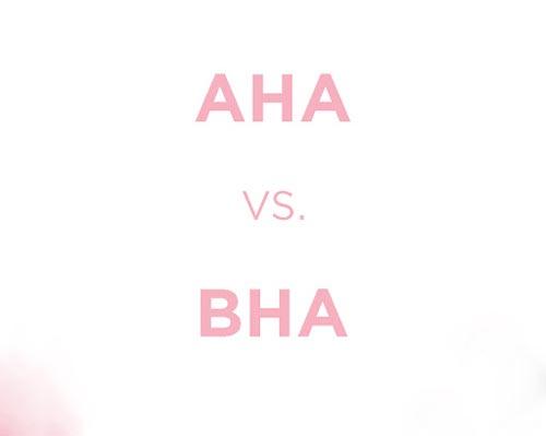 Không sử dụng chung niacinamide với AHA và BHA