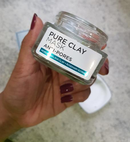 mặt nạ đất sét Pure Clay Mask Loreal Anti Pores