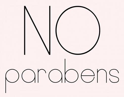 Sản phẩm không chứa parabens