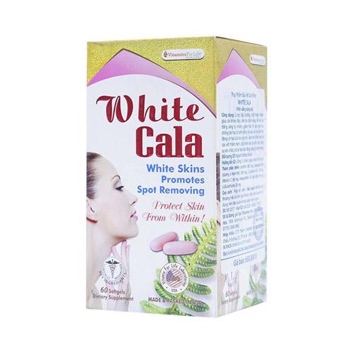 Viên uống trắng da White Cala
