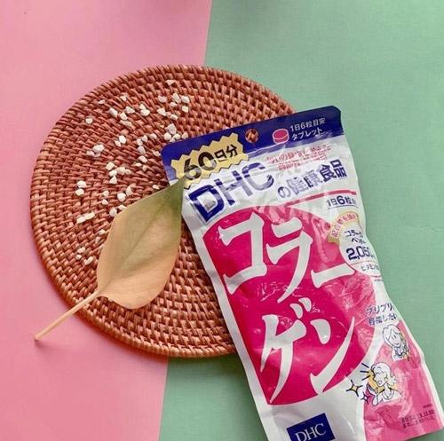 Collagen DHC Nhật Bản Dạng Viên Chiết Xuất Từ Cá Biển