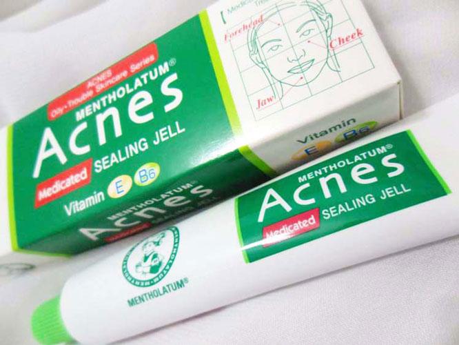 đánh giá về kem trị mụn acnes