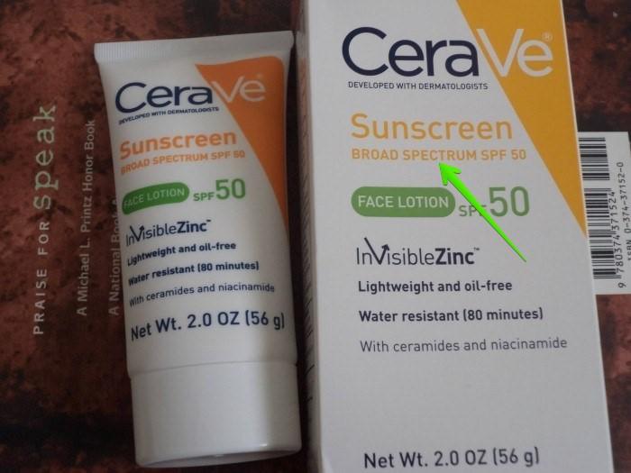 kem chống nắng phổ rộng CeraVe
